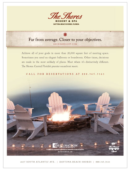 The Shores Resort & Spa ad